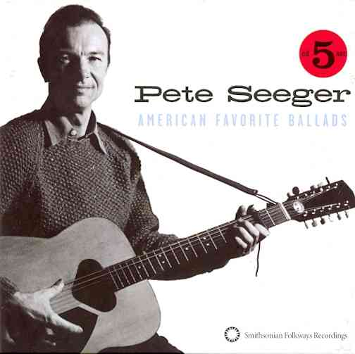 AMERICAN FAVORITE BALLADS VOLS 1-5 BY SEEGER,PETE (CD)